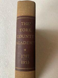1953 Vintage York County, York PA Academy Book