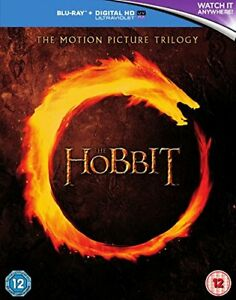 The Hobbit Trilogy [Blu-ray] [2015] [Region Free] [DVD][Region 2]