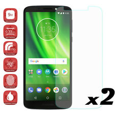 For Motorola Moto G6 Play Tempered Glass Screen Protector Films Cover Saver 2Pcs