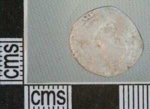 Great Britain England Charles I Twopence Half Groat Silver Hammered Coin 1625-49