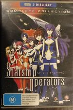 STARSHIP OPERATORS RARE DELETED OOP DVD MANGA ANIME COMPLETE TV SERIES CARTOON