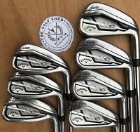 Callaway XR PRO Irons - 4 - PW - PROJECT X 5.0 RIFLE SHAFTS