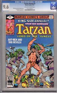 Tarzan Ann 3 CGC 9.6