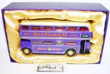 Corgi Toys 1:43 AEC ROUTEMASTER QUEEN ELIZABETH GOLDEN JUBILEE Lim. Ed. BUS MIB!