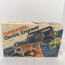 Dremel Electric Engraver Model 290 5 Speed Project Theft Guard