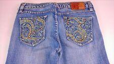 Pepe Jeans London Bling Womens SZ 25 Boot Orange Yellow 28.5 x 29.75 Actual Cute