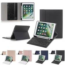 "For iPad 10.2"" 7th Gen 2019 Slim Keyboard Leather Case Cover With Pencil Holder"