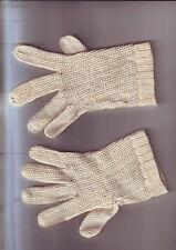 petite paire gants enfant anciens -- etat correct