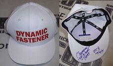 Charmaine Tweet Signed Invicta FC 8 Fight Worn Used Walkout Hat PSA/DNA MMA UFC
