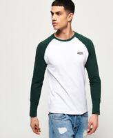 Superdry Orange Label Long Sleeve Baseball T-Shirt