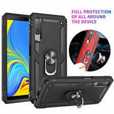 Magnetic Ring Holder Hybrid Armor Case Cover for Samsung Galaxy A40