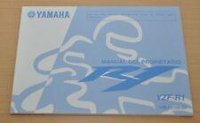 YAMAHA R1 YZF-R1 R 1 Manual del Propietario Bedienungsanleitung 2008 Motor