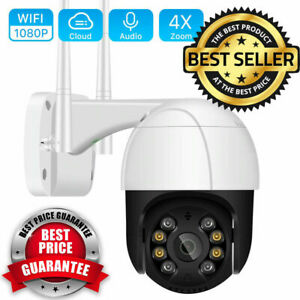 1080P HD WiFi Security IP Camera Wireless CCTV AI Human Detect Outdoor System