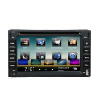 "2 Din 6"" Car DVD CD MP3 Player GPS Navigation Bluetooth AM/FM Radio USB SD N3M2"