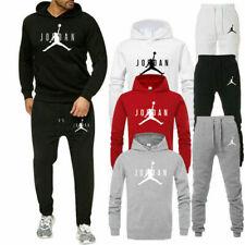 Herren Hoodie Jogginghose Kapuzenpullover Hose Sportanzug Trainingsanzug Sets