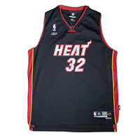 Reebok Vintage NBA Miami Heat Black Jersey #32 O'NEAL Youth XL Women's 18-20