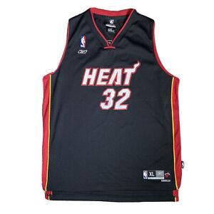 Reebok Vintage NBA Miami Heat Black Jersey #32 O'NEAL Youth XL Women's 18-20