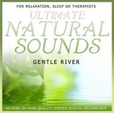 ULTIMATE NATURAL SOUNDS - GENTLE RIVER - NEW AGE CD