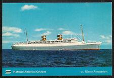 SS NIEUW AMSTERDAM Holland America Cruises
