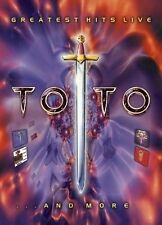 Toto Greatest Hits Live (DVD, 2003) REGION-4, VERY GOOD, FREE POST IN AUSTRALIA