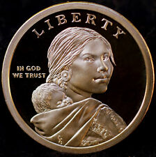 2009 S Sacagawea Native American Mint Proof Dollar from Original Proof Set