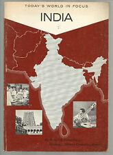 Today's World In Focus India Robert E Frykenberg SC 1968