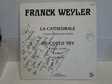 """FRANCK WEYLER La cathedrale MAXI 45 tours 12"""" CA 94268"""