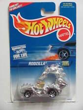 HOT WHEELS 1997 SILVER SERIES RODZILLA #323  CHROME 5 SP WHEELS