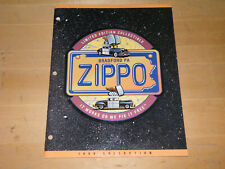 Zippo Collection Catalog 1998