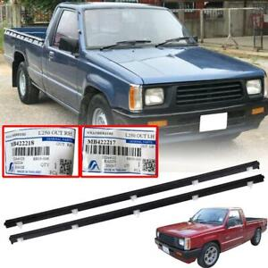 Door Belt Weatherstrip Outer For Mitsubishi Mighty Max L200 Dodge Ram 50 1986-97