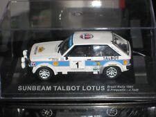 IXO Talbot Sunbeam Lotus #1 Rally Brazil 1981 1:43
