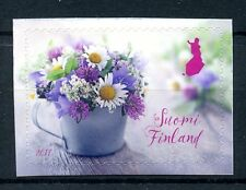 Finland 2017 MNH Summer Flowers 1v S/A Set Plants Nature Stamps