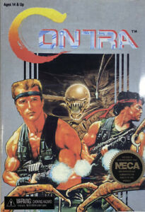 """Contra Bill and Lance 2-Pack 7"""" Scale Action Figure"""