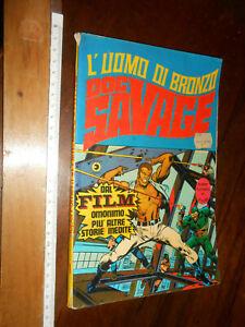 FUMETTO- L'UOMO DI BRONZO -DOC SAVAGE - N 1 -MARZO 1976 -COLLANA SUPER FUMETTI