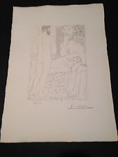 """Picasso """"Suite Vollard"""" Bloch #147, Limited Edition, Picasso Family Authorized."""