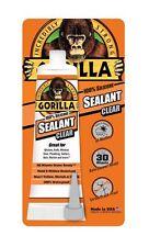 Gorilla Glue 8090002 2 Pack 2.8 oz. 100% Silicone Sealant, Clear