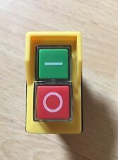 Start / Stop No Volt Release Switch NVR 4pin Yellow