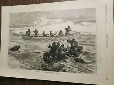 A Walrus Hunt In The Arctic Regions-1877