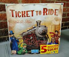 NEW Sealed Days of Wonder Ticket To Ride by Alan R. Moon Adventure Board Game