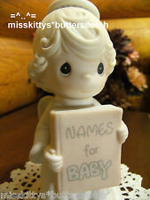 Precious Moments~NATIVITY~JESUS Is The Sweetest Name I Know~Girl ANGEL~BV=60~ba