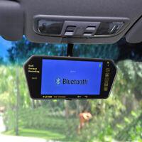 "7"" TFT LCD Color HD 800*480 USB MP5 FM SD Car Rear View Bluetooth Mirror Monitor"
