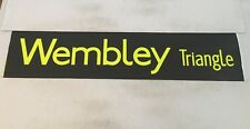 """London Bus Blind ( North West ) 46 42""""- Wembley Triangle"""