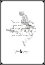 Freddie Mercury Quote Art Print Poster
