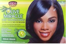 African Pride Olive Miracle Conditioning Anti-breakage No Lye Relaxer Regular