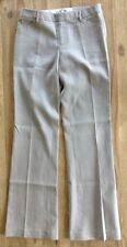 "NWT GAP  ""ThePerfect Trouser""  Pale Gray Cotton - Size 2 Long - Flared Leg"