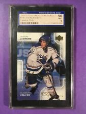 2000-01 Jason Jaspers RC #130 Upper Deck Pros and Prospects Hockey Card SGC 96M9