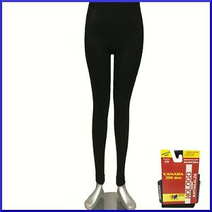 Pantacollant da donna calzamaglia termica leggins leggings invernale fuseaux