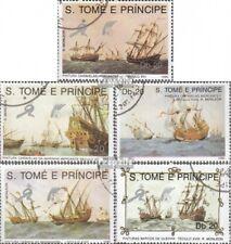 Sao Tome e Principe 1129-1133 gestempeld 1989 Navigatie