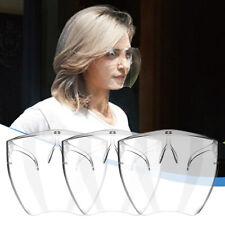 Clear Face Shield Face Mask Transparent Reusable Glasses Visor Anti-Fog Cover