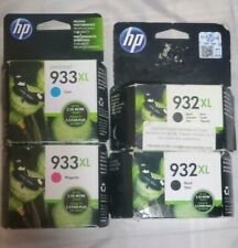 4pk Genuine HP 932XL + 933XL Ink OfficeJet 6100 6600 6700 7110 7612 (Retail Box)